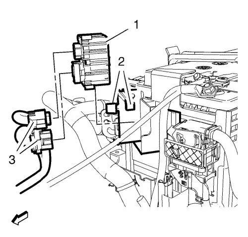 glow plug controller wiring harness