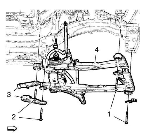 Vauxhall Workshop Manuals > Astra J > Body Repair > Frame