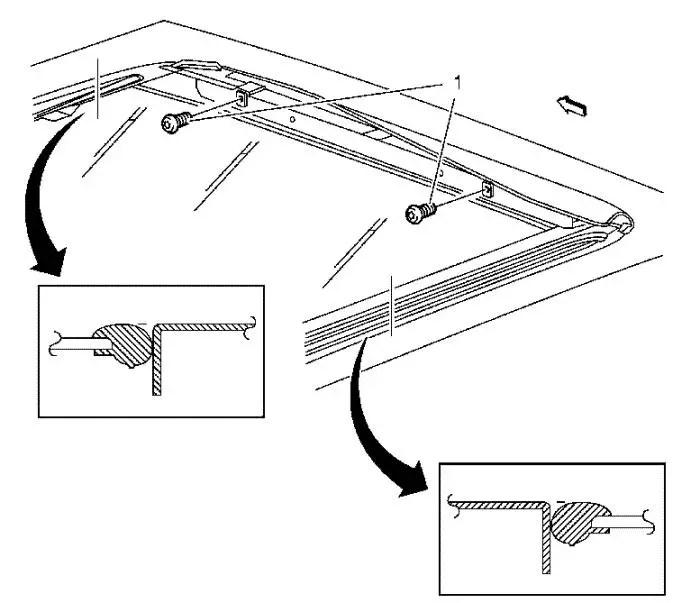 Vauxhall Workshop Manuals > Astra J > Roof > Sunroof