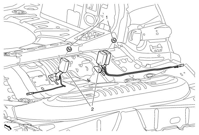 Vauxhall Workshop Manuals > Astra J > Safety and Security