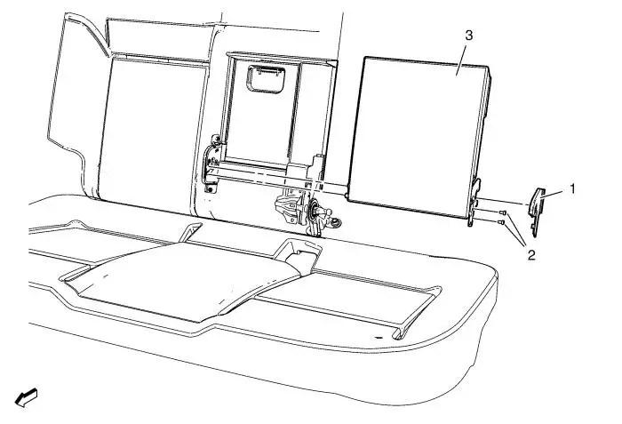 Vauxhall Workshop Manuals > Astra J > Seats > Seat