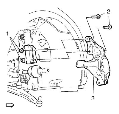 Vauxhall Workshop Manuals > Astra J > Suspension > Front
