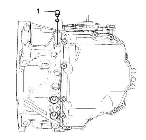 Vauxhall Workshop Manuals > Astra J > Transmission