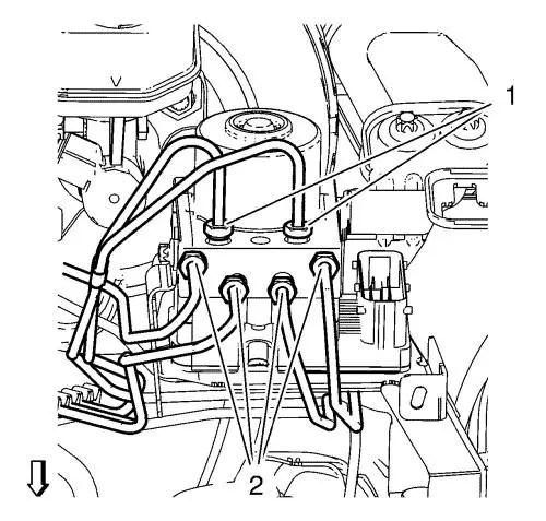 Vauxhall Workshop Manuals > Astra J > Brakes > Antilock