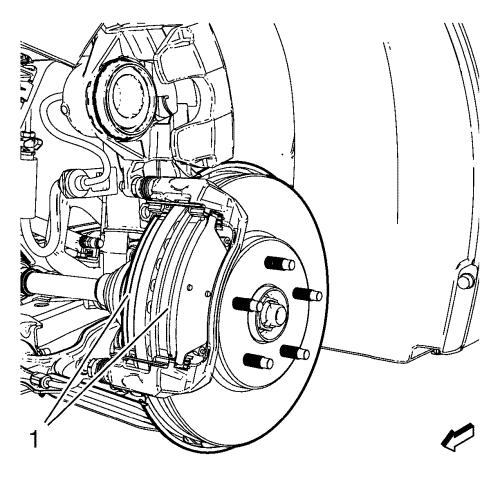 Vauxhall Workshop Manuals > Astra J > Brakes > Disc Brakes
