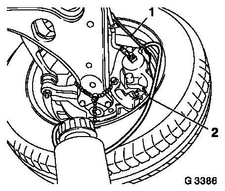 Vauxhall Workshop Manuals > Corsa B > H Brakes > Brake