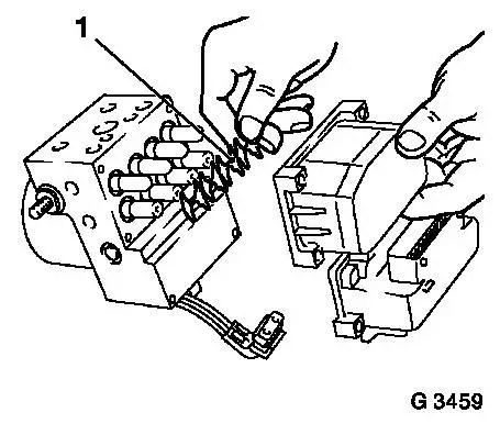 Vauxhall Workshop Manuals > Corsa B > H Brakes > ABS 5.3