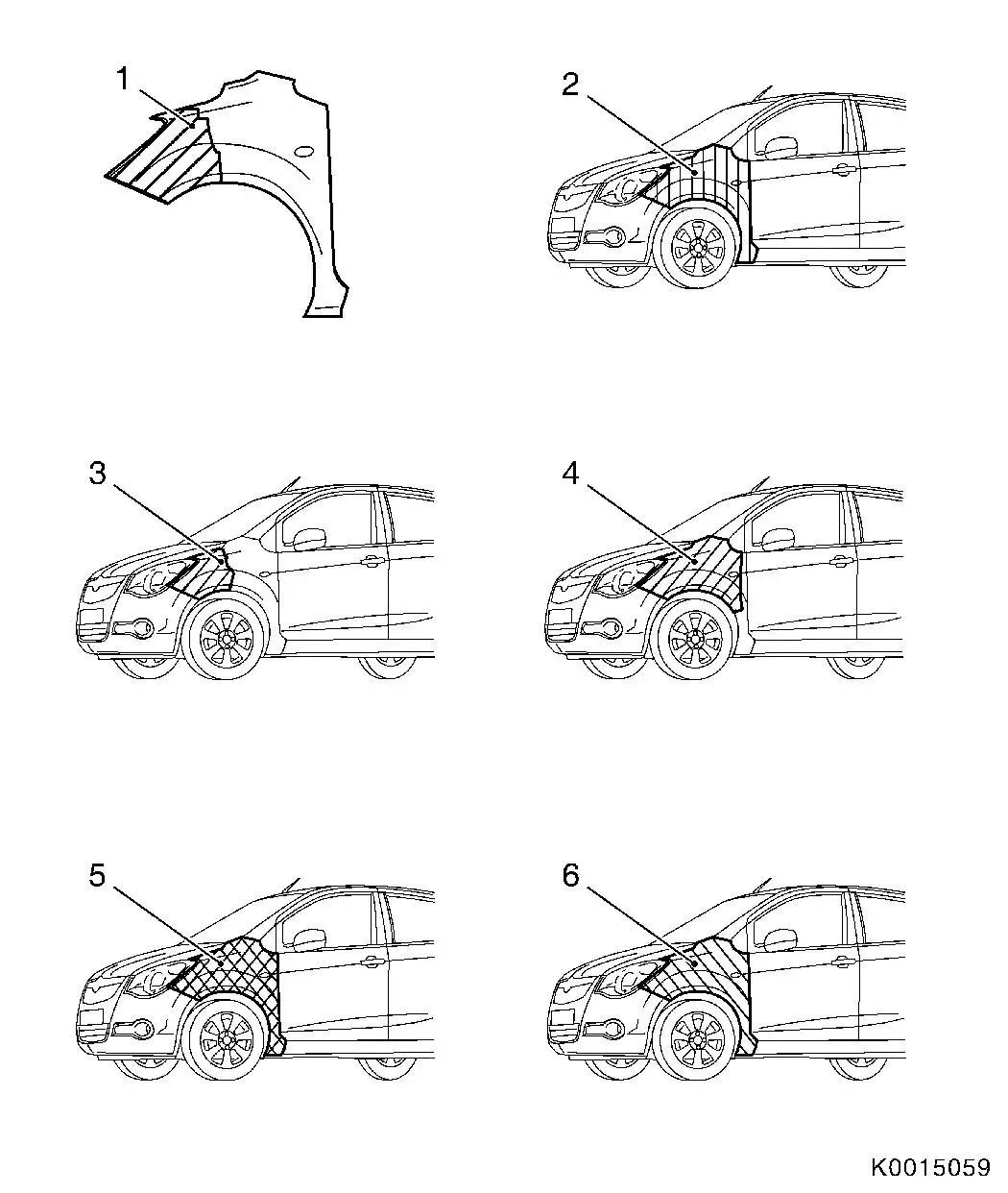 Vauxhall Workshop Manuals > Corsa B > B Paint > Painting