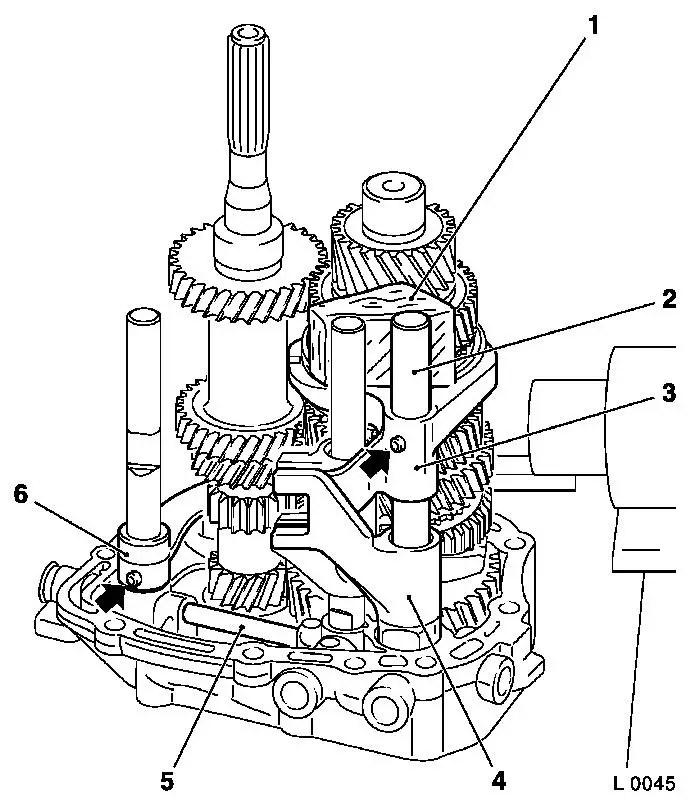 Vauxhall Workshop Manuals > Corsa B > K Clutch and