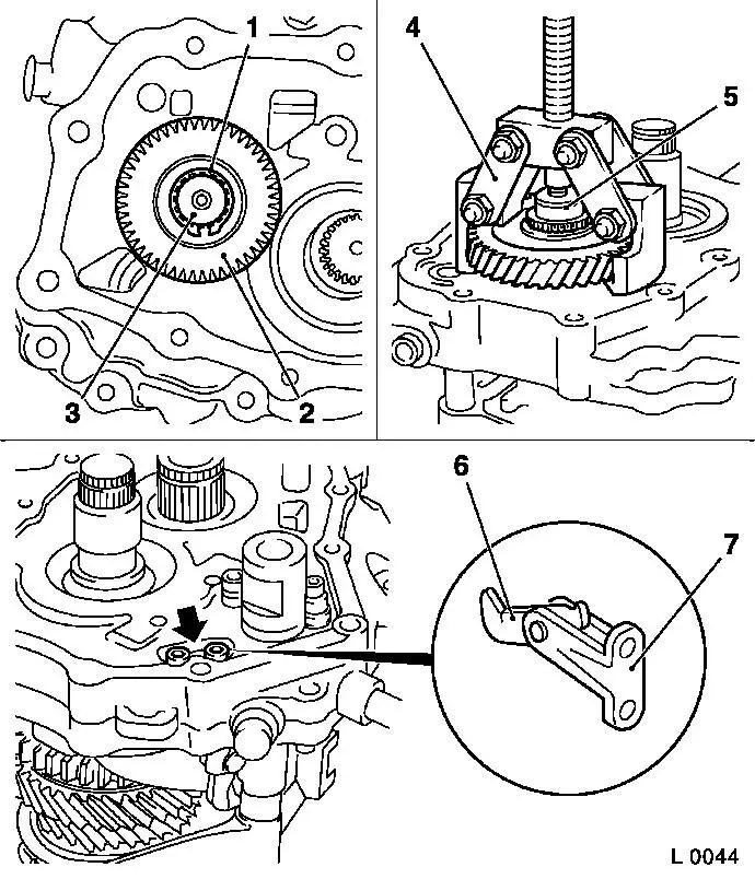 Vauxhall Workshop Manuals > Corsa C > K Clutch and