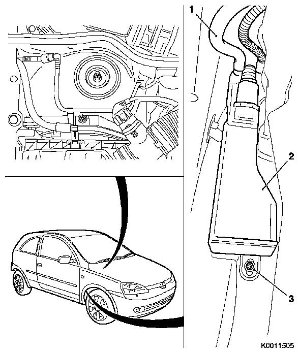 Vauxhall Workshop Manuals > Corsa C > L Fuel and Exhaust