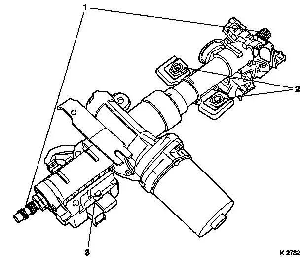 Vauxhall Workshop Manuals > Corsa C > M Steering > EPS