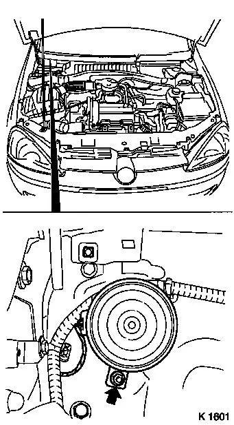 vauxhall corsa horn wiring diagram