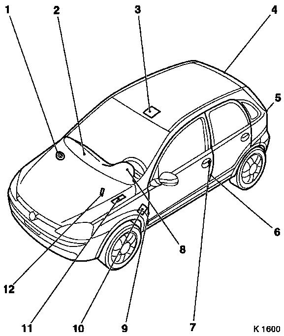 Vauxhall Zafira B Central Locking Wiring Diagram