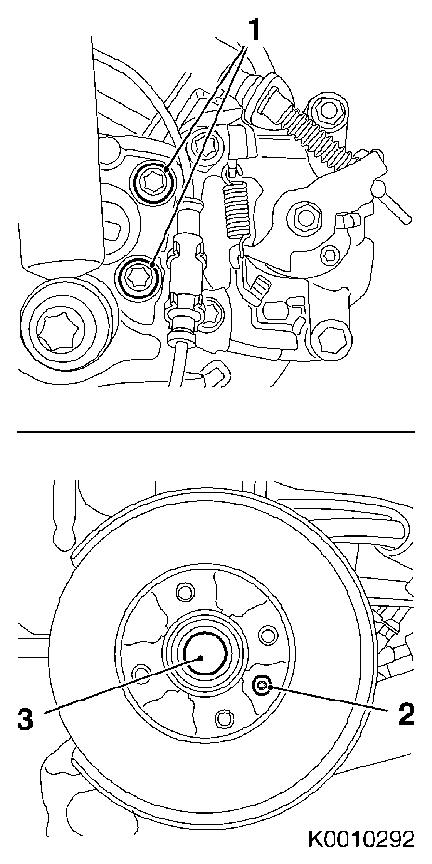 Vauxhall Workshop Manuals > Corsa C > F Rear Axle and Rear