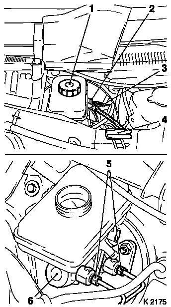 Vauxhall Workshop Manuals > Corsa C > H Brakes > Brake