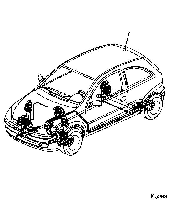 Vauxhall Workshop Manuals > Corsa C > H Brakes > ABS 8