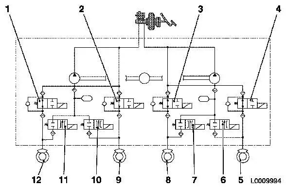 opel vectra b radio wiring diagram valeo alternator regulator vauxhall workshop manuals corsa c h brakes abs 8 description object number 2413537 size default