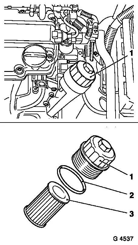 How to change holden viva 2006 engine oil sensor