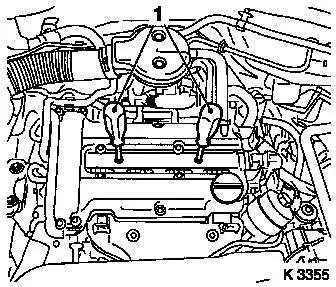Vauxhall Workshop Manuals > Corsa C > J Engine and Engine Aggregates > DOHC Petrol Engine