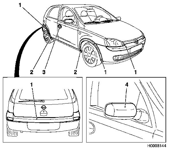 vauxhall tigra manual auto electrical wiring diagram Black Vauxhall Tigra vauxhall workshop manuals corsa c b paint painting