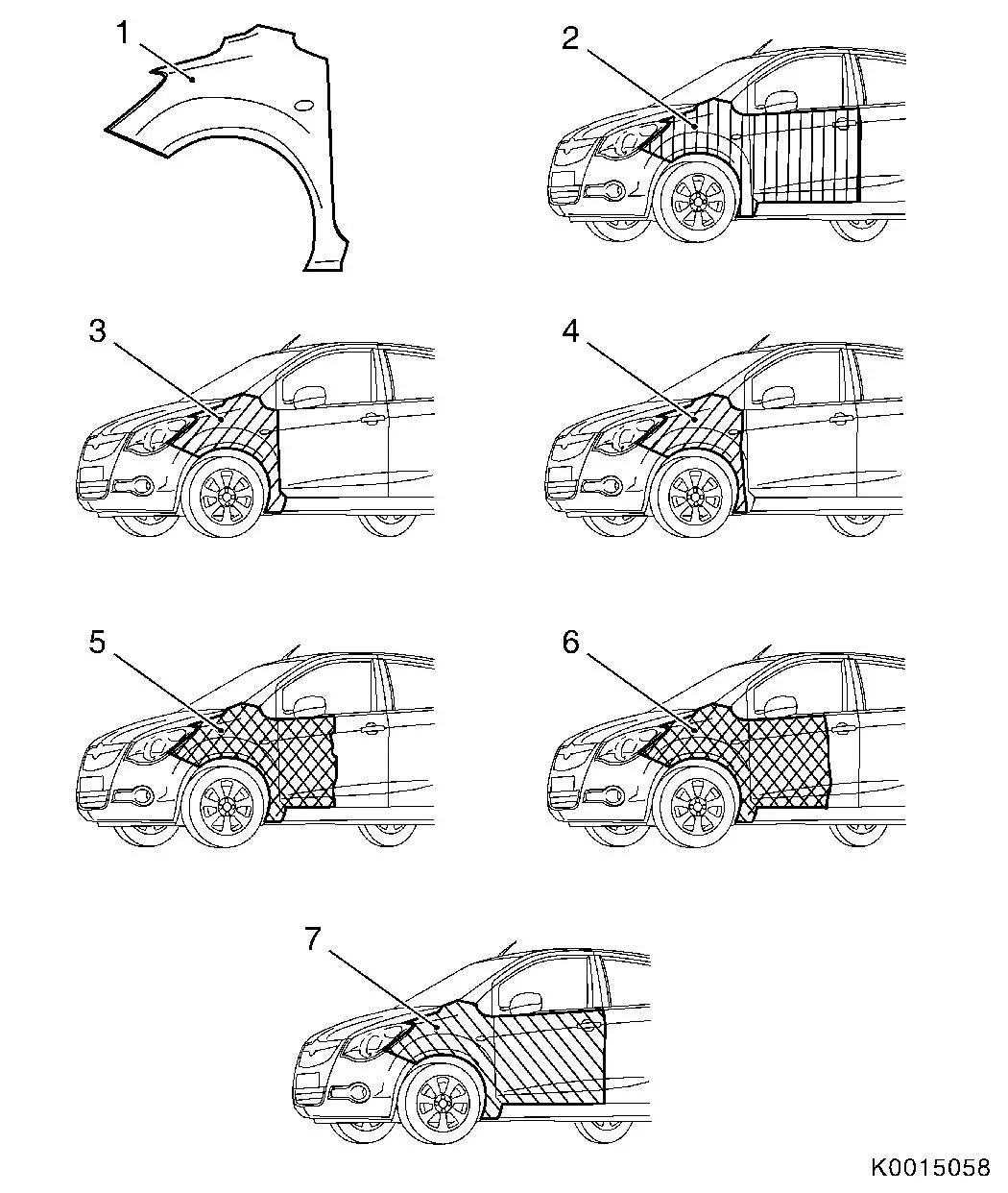 Vauxhall Workshop Manuals > Corsa C > B Paint > Painting
