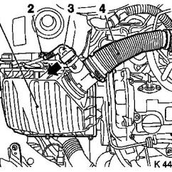 Vauxhall Corsa C Fuel Pump Wiring Diagram Windmills For Electricity Workshop Manuals > J Engine And Aggregates Cooling System Radiator ...