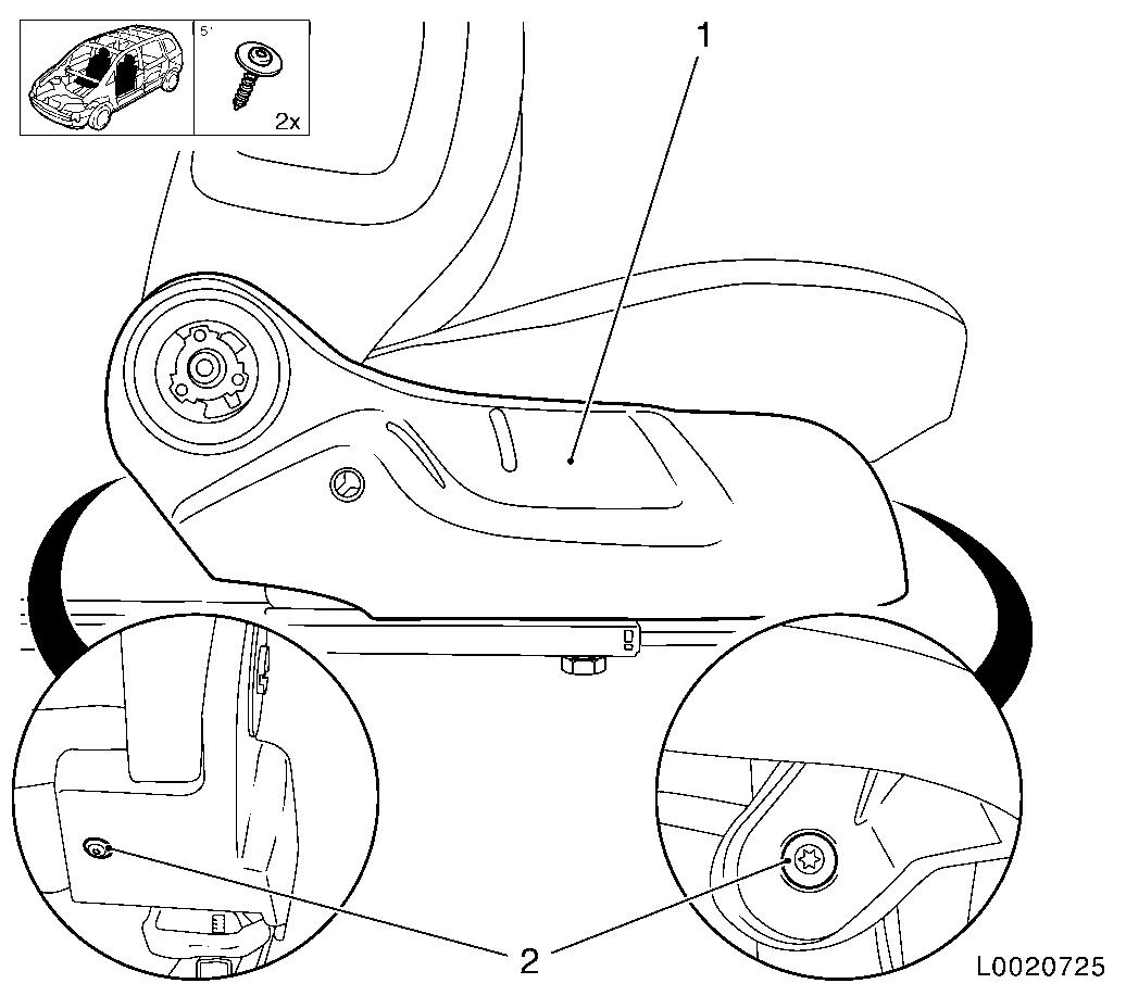 Vauxhall Workshop Manuals > Corsa D > C Body Equipment