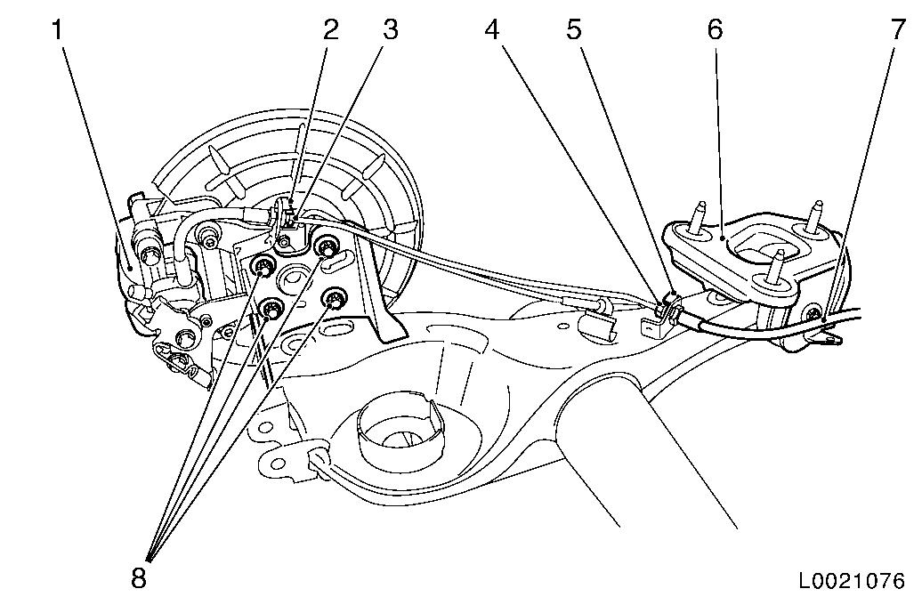 Vauxhall Workshop Manuals > Corsa D > F Rear Axle and Rear