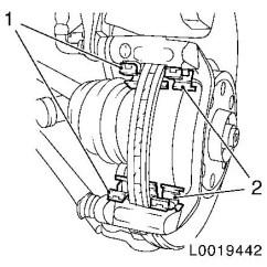 Carrier Wiring Diagram Minn Kota Trolling Motor Plug And Receptacle Vauxhall Workshop Manuals > Corsa D H Brakes Front Wheel Brake Pads Repair ...
