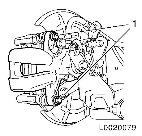 Vauxhall Workshop Manuals > Corsa D > H Brakes > Rear