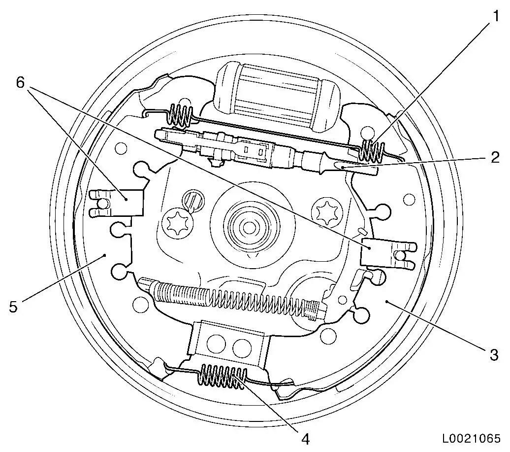 Vauxhall Workshop Manuals Gt Corsa D Gt H Brakes Gt Brake