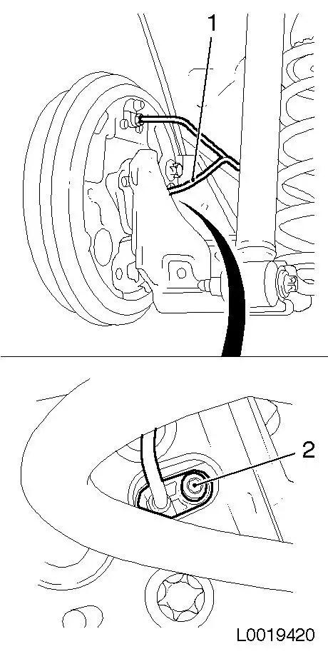 Vauxhall Workshop Manuals > Corsa D > H Brakes > ABS 8