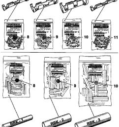 note the shrink down plastic tubes for the cable cross section 0 35 mm vauxhall workshop manuals corsa  [ 1033 x 1222 Pixel ]