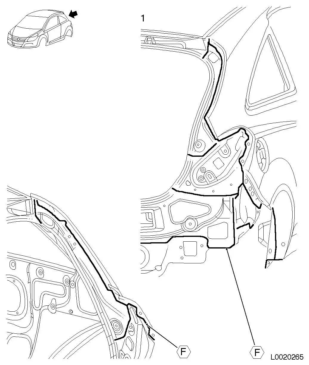 Vauxhall Workshop Manuals > Corsa D > B Paint > Corrosion