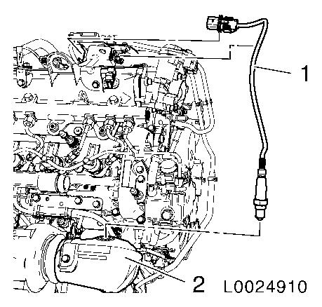 Vauxhall Workshop Manuals > Corsa D > J Engine and Engine