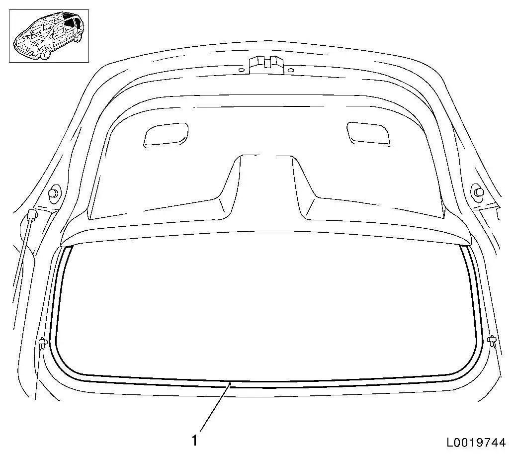 Vauxhall Workshop Manuals > Corsa D > C Body Equipment