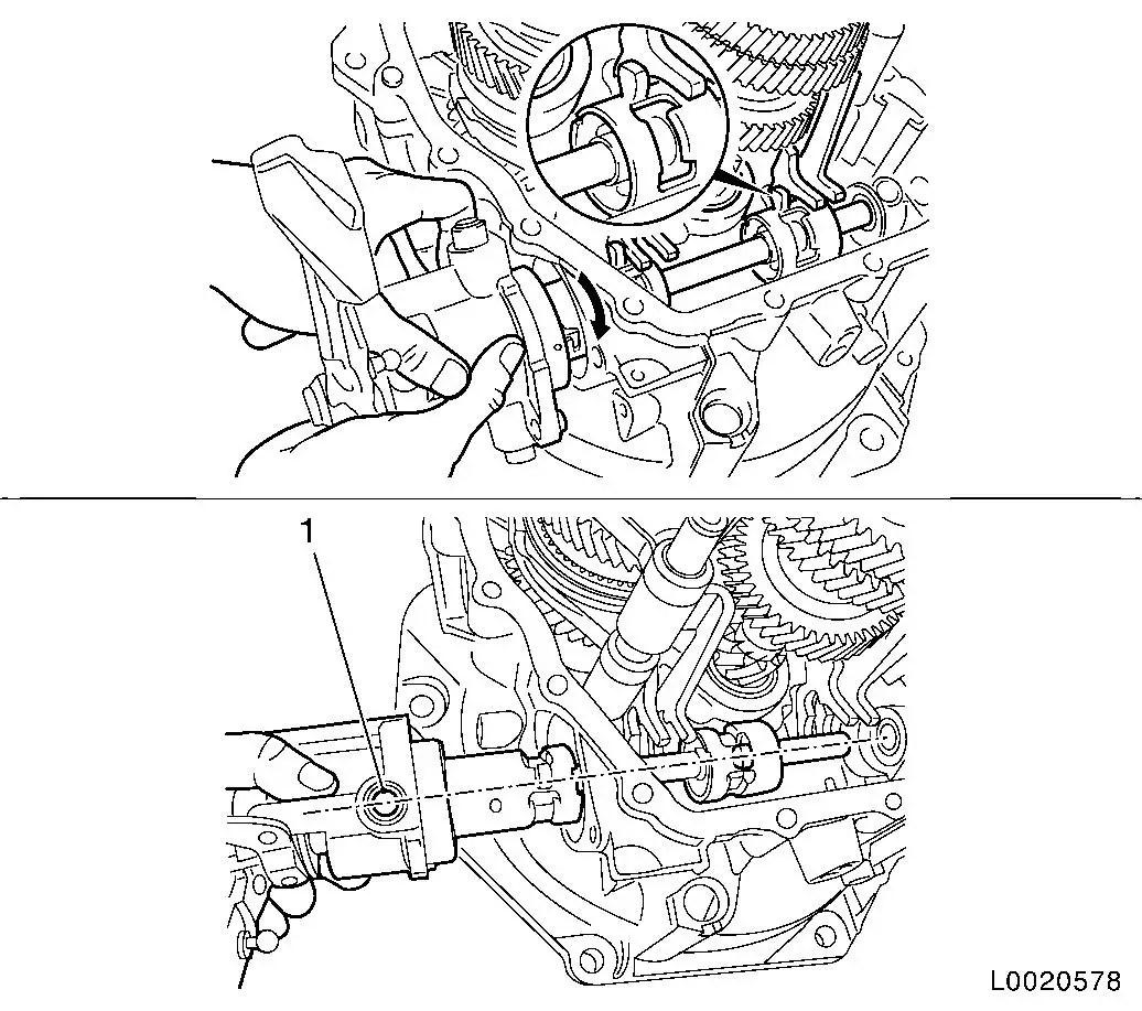 Vauxhall Workshop Manuals Gt Corsa D Gt K Clutch And Transmission Gt Manual Transmission Front