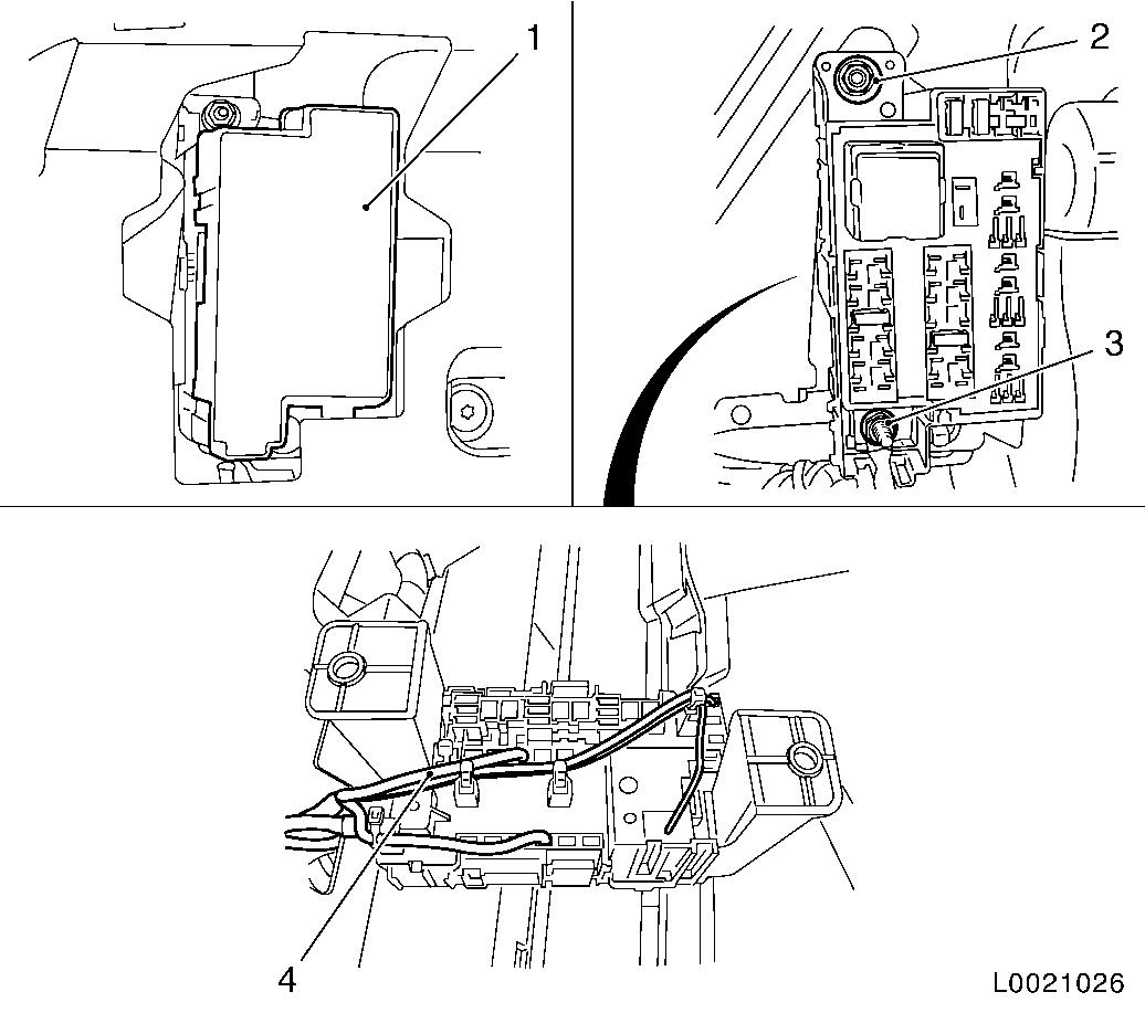 Opel Corsa D Fuse Box Diagram
