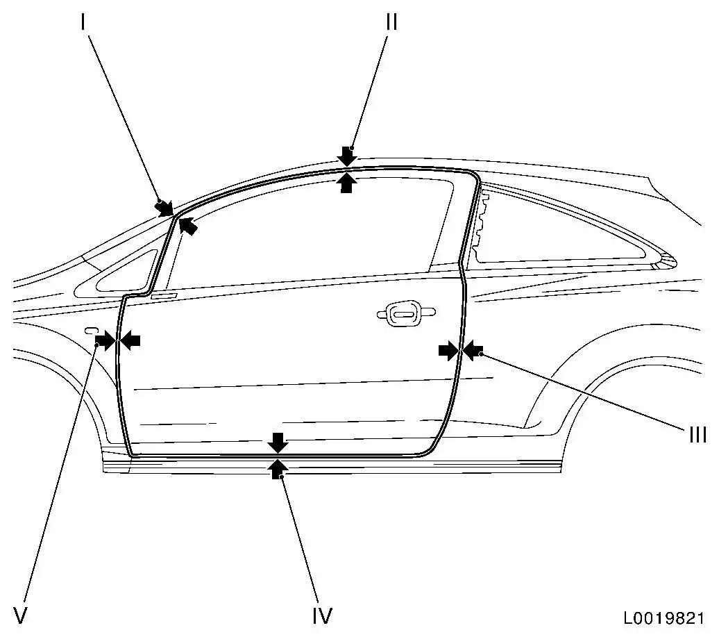 Vauxhall Workshop Manuals Gt Corsa D Gt A Maintenance Body