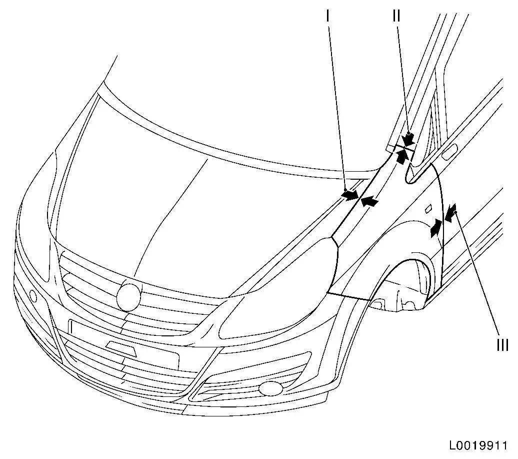 Vauxhall Workshop Manuals > Corsa D > A Maintenance, Body