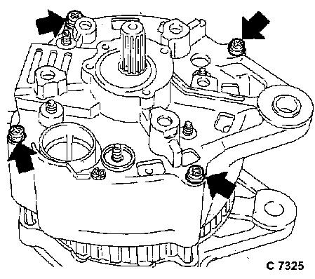 Vauxhall Workshop Manuals > Nova > J Engine and Engine