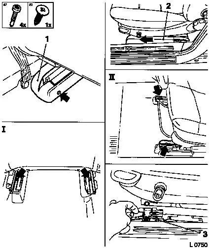 Vauxhall Workshop Manuals > Omega B > C Body Equipment