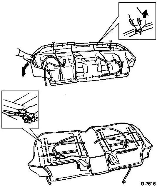 Vauxhall Workshop Manuals > Omega B > D Heating