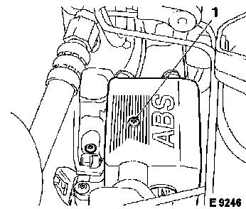 Vauxhall Workshop Manuals > Omega B > H Brakes > ABS