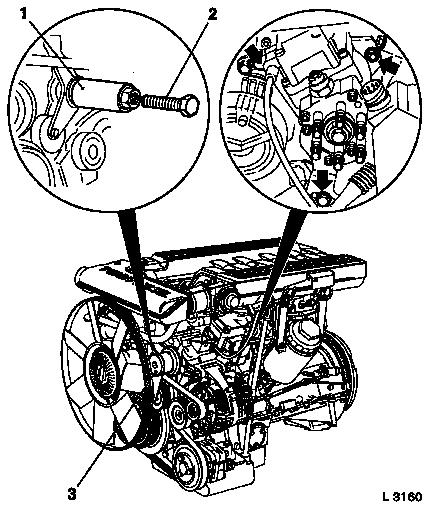 Vauxhall Workshop Manuals > Omega B > J Engine and Engine