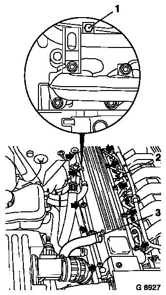 Vauxhall Workshop Manuals > Omega B > J Engine and Engine