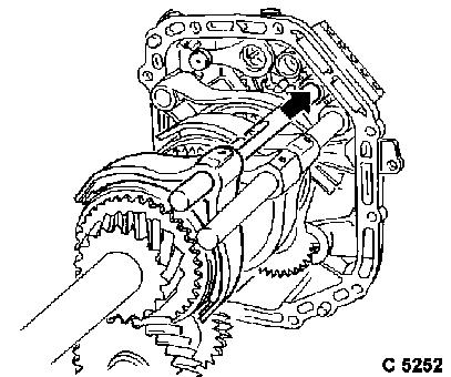 Vauxhall Workshop Manuals > Omega B > K Clutch and