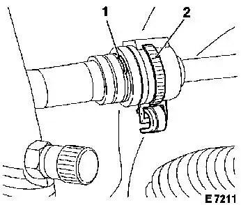 Wiring Harness Retainer Strap Saturn 2003 Engine Retainer