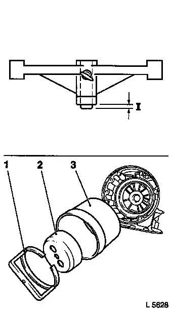 Vauxhall Workshop Manuals > Omega B > K Clutch and